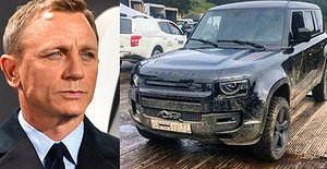 James Bond avslöjade nya Land Rover