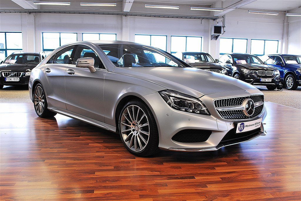 Mercedes-Benz CLS 350 d BlueTec 4Matic AMG