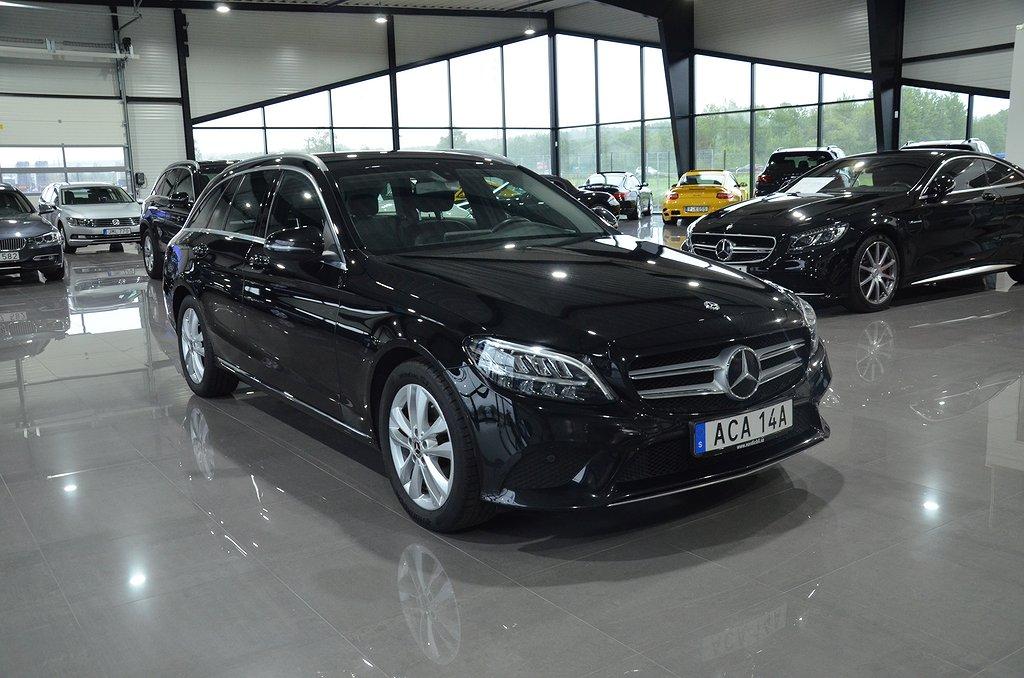 Mercedes-Benz C 200 T d 9G-Tronic Euro 6 160hk