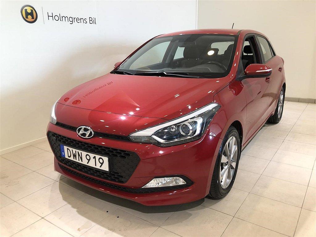 "Hyundai i20 1.4 Premium Automat 100hk ""lågmilare"""