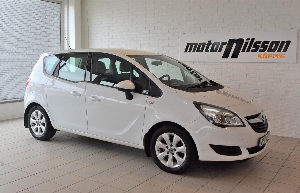 Opel Meriva 1.4 T 140hk Dragkrok 2 brukare