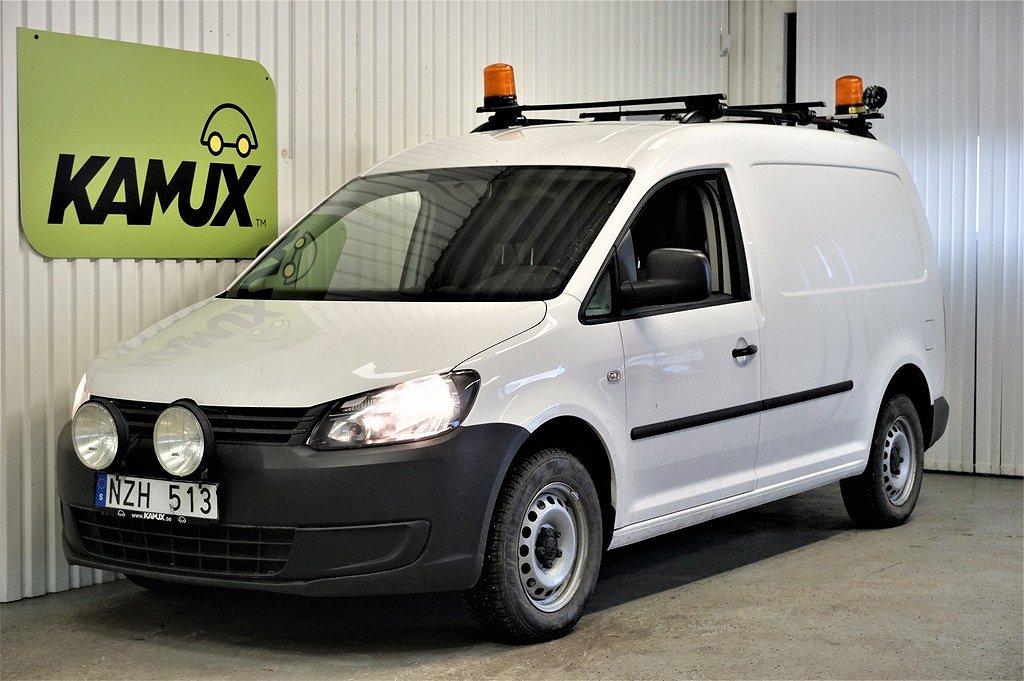 Volkswagen Caddy 2.0 TDI Maxi 4Motion | D-Värmare | Drag | 110hp.