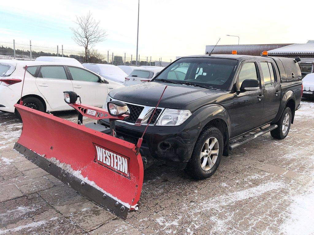 Nissan Navara 2.5DCI PLOGBIL 4WD KÅPA 2-ÅRS GARANTI