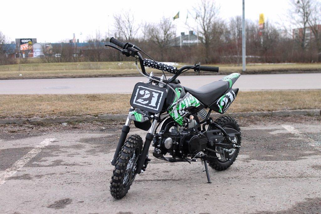 AGB 21 Barncross 70cc Grön