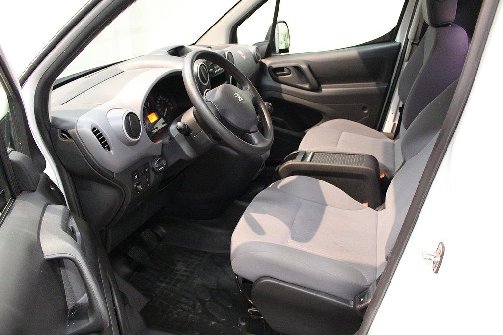 Peugeot Partner, L2 1.6 HDi Drag Verkstadsinredning