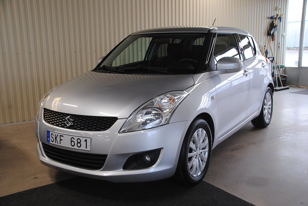 Suzuki Swift 5-dörrar 1.2 Exlusive
