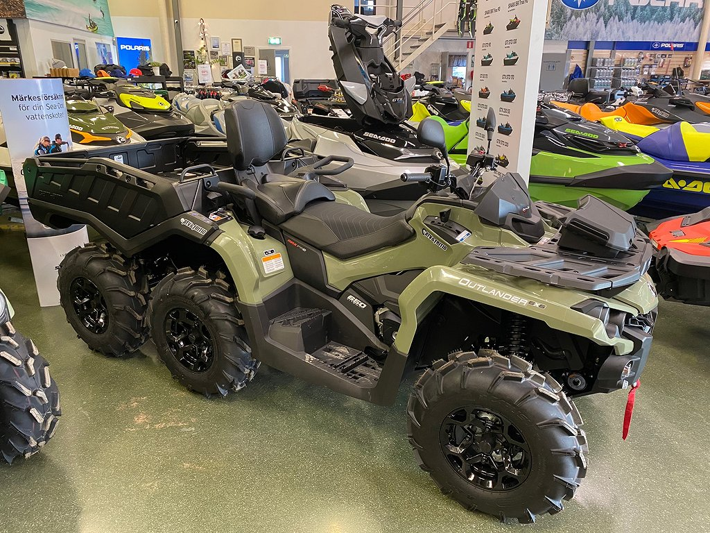 Can-Am Kampanj! Outlander MAX 6X6 PRO+T Side Wall 650 Grön T3B 2020
