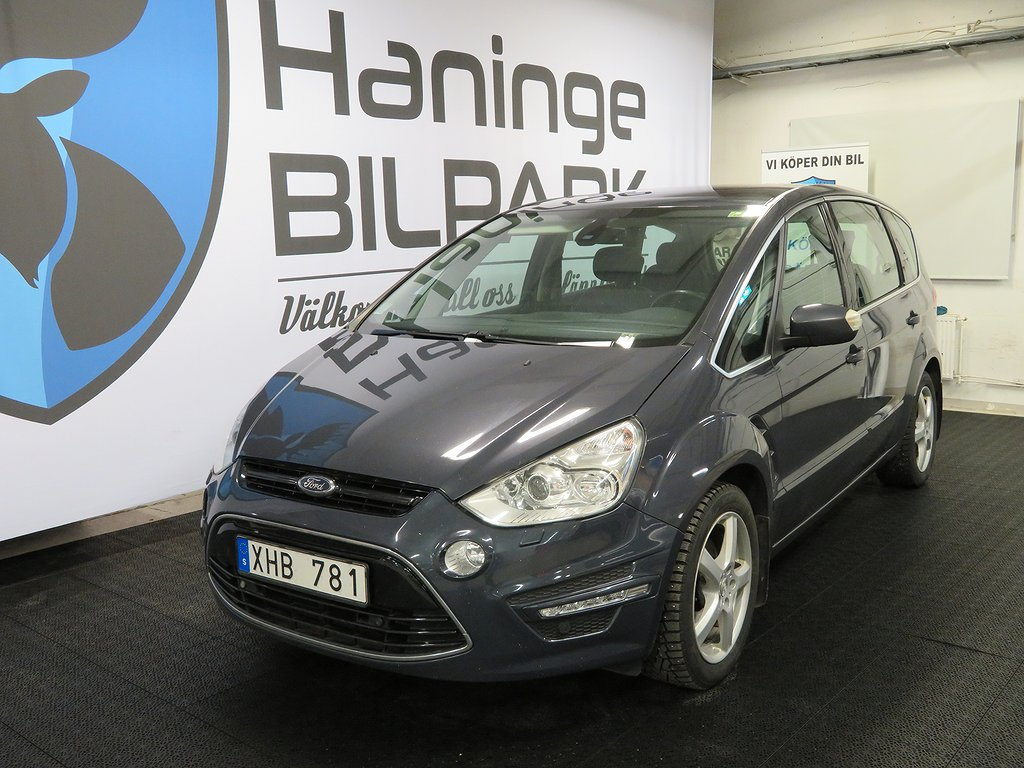 Ford S-Max 2.0 TDCi 7-SITS / PANORAMAGLASTAK / 163hk