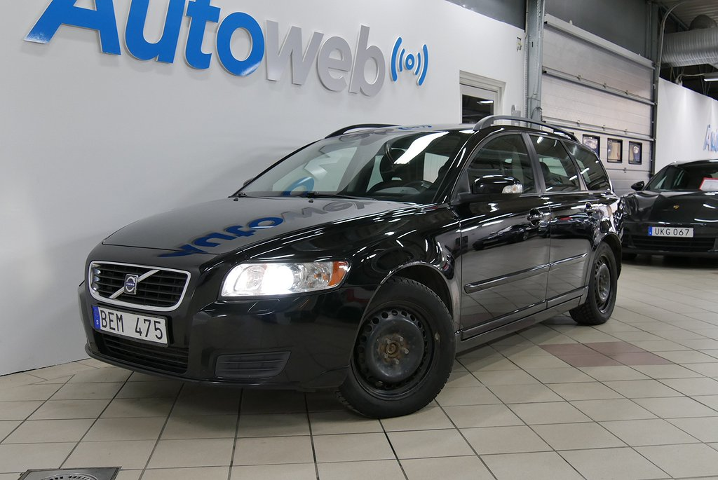 Volvo V50 D5 180hk Automat/Drag/Värmare/Kamrem bytt