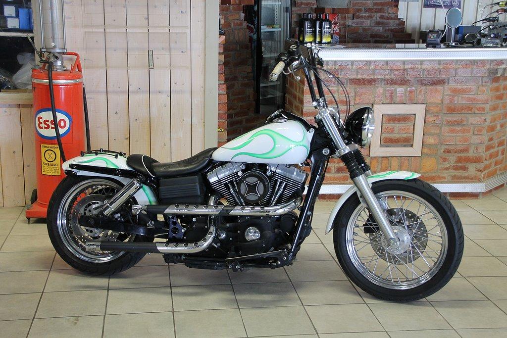 Harley-Davidson Bobber Dyna 1550 cc
