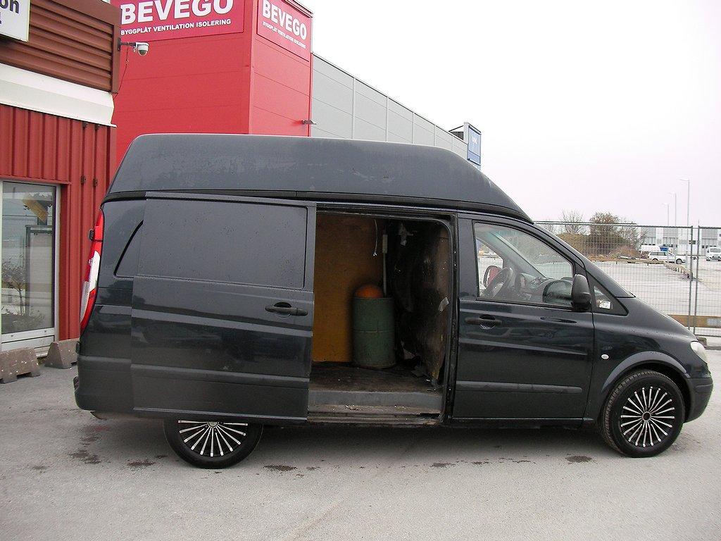 """Mercedes-Benz Vito 111 Cdi Förhöjt Skåp Lång Påkostad!17"""""""