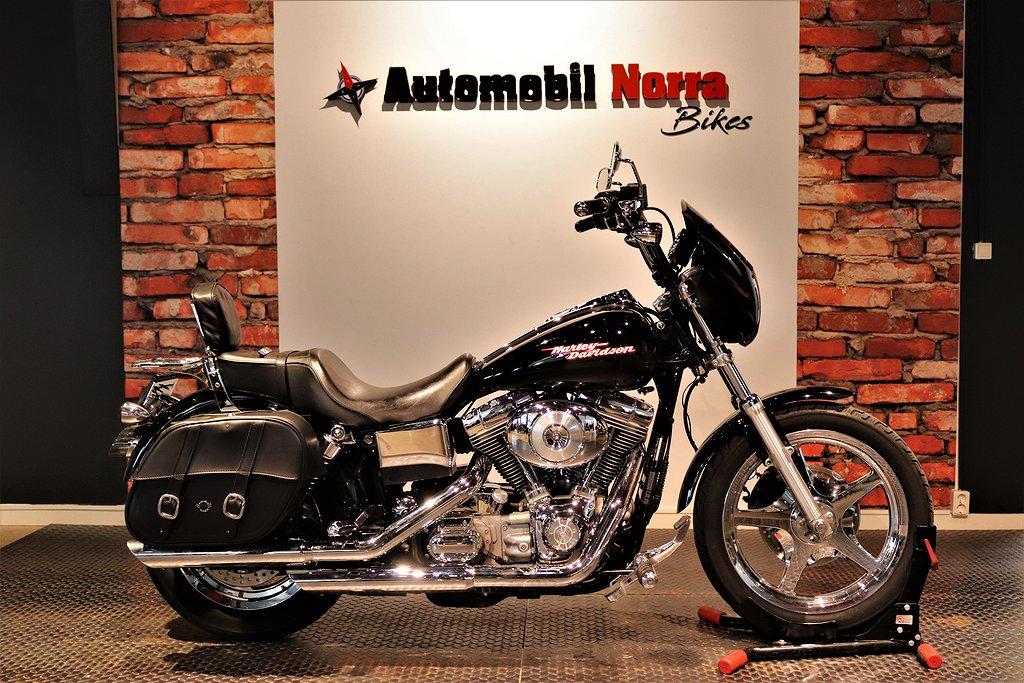 Harley-Davidson Dyna Super Glide Packväskor Kåpa Nybes