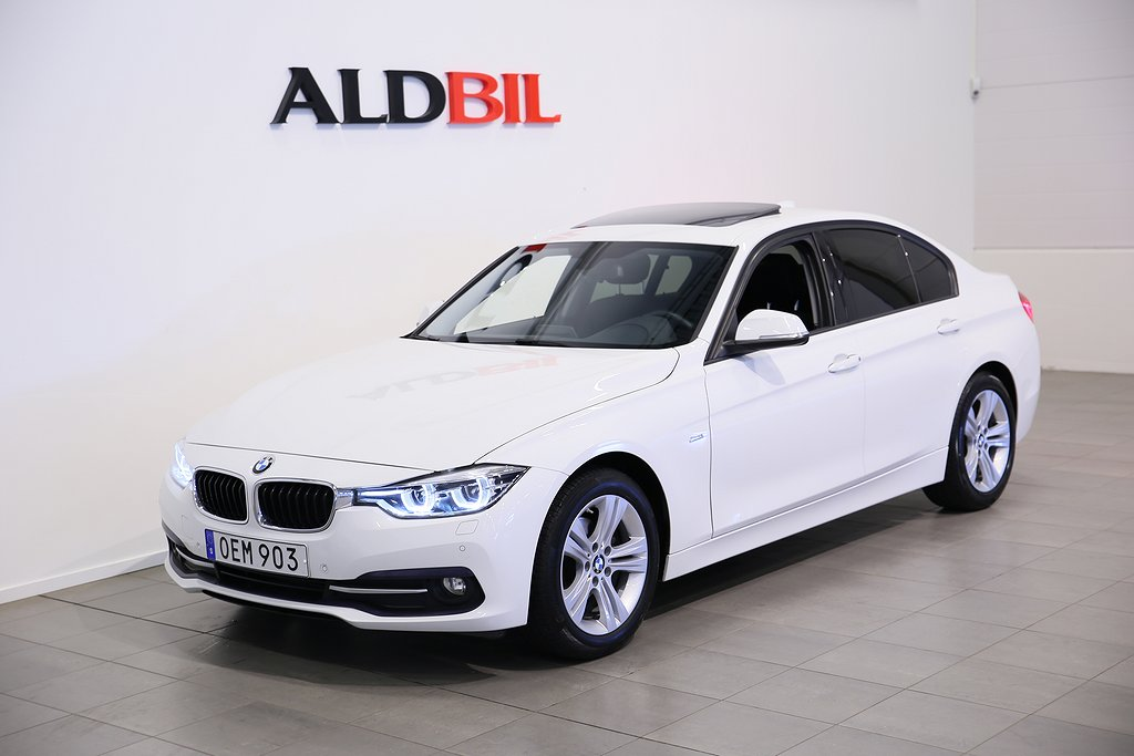BMW 318 d 150hk Model Sport Loungepaket
