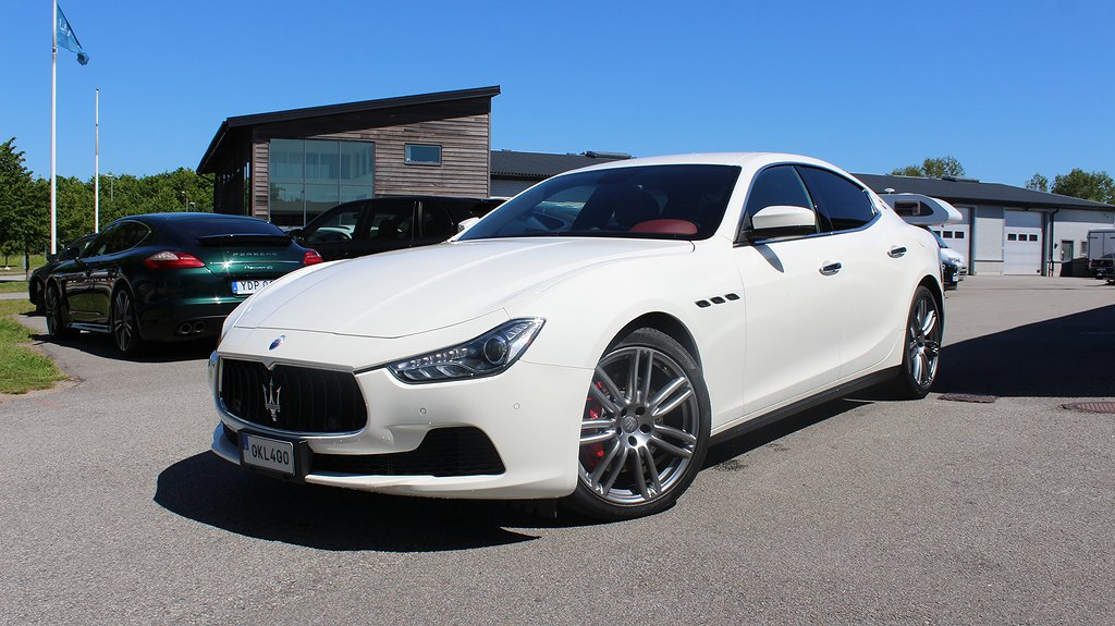 Maserati Ghibli Diesel 275hk Kamera Svensksåld