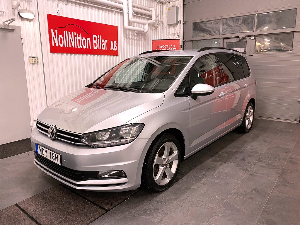 Volkswagen Touran 1,6 Tdi / DSG/ 7 SITS