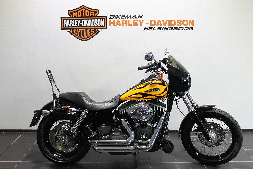 Harley-Davidson FXDB 1 ÅRS GAR FRI FRAKT
