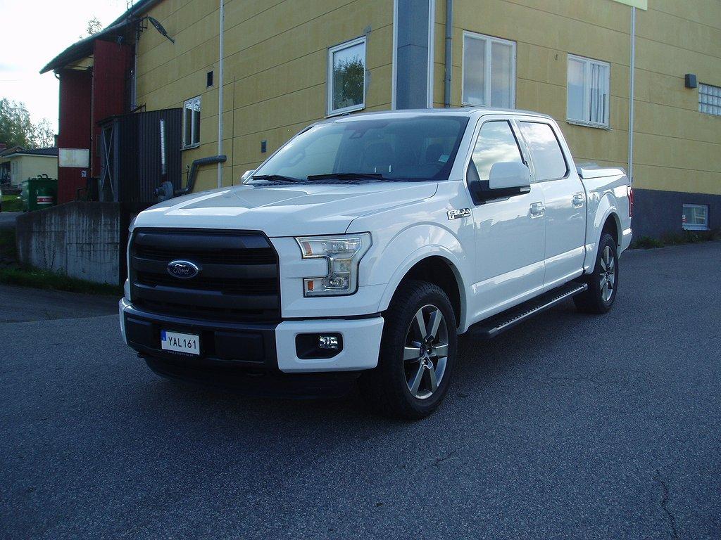 Ford F150 Lariat Sport LÅGMIL!!  Crew Cab