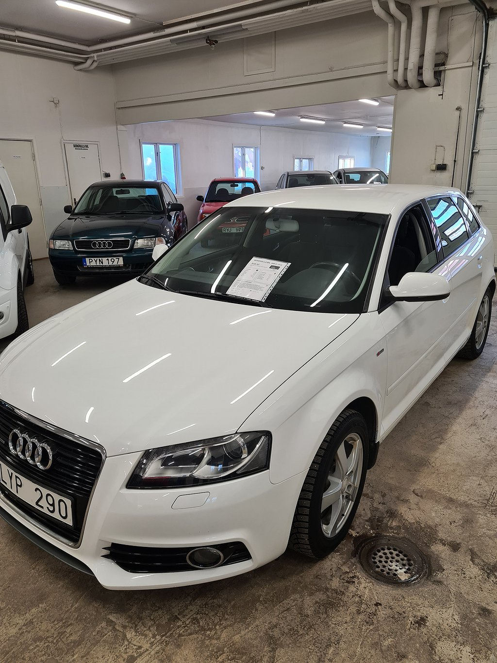 Audi A3 Sportback 2.0 TDI quattro Sport, Attraction 140hk