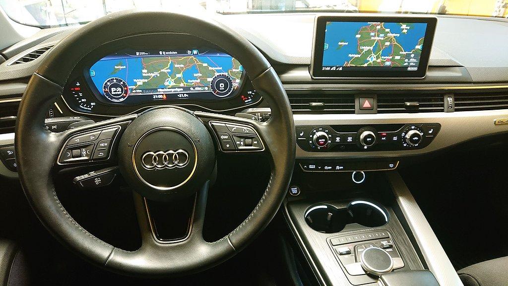 Audi A4 190hk Cockpit Q Aut Euro6 Navi Drag