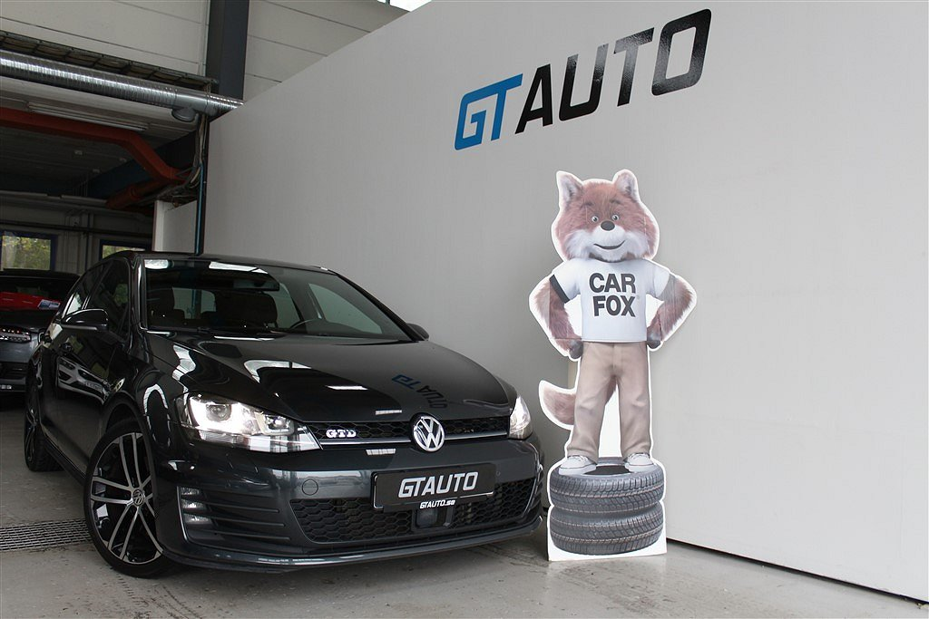Volkswagen Golf GTD 2.0TDI 184hk Automat Pluspaket
