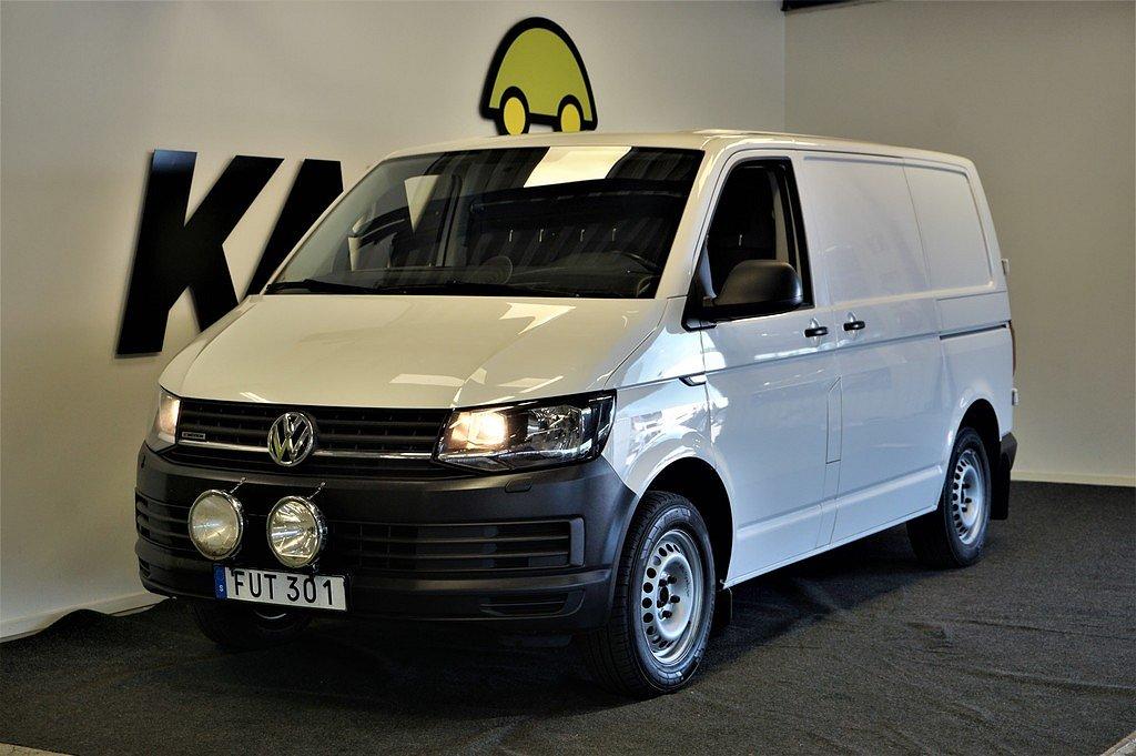 Volkswagen Transporter 2.0 TDI   4M   Komfort   3-sits   D-Värm   Drag   140hk