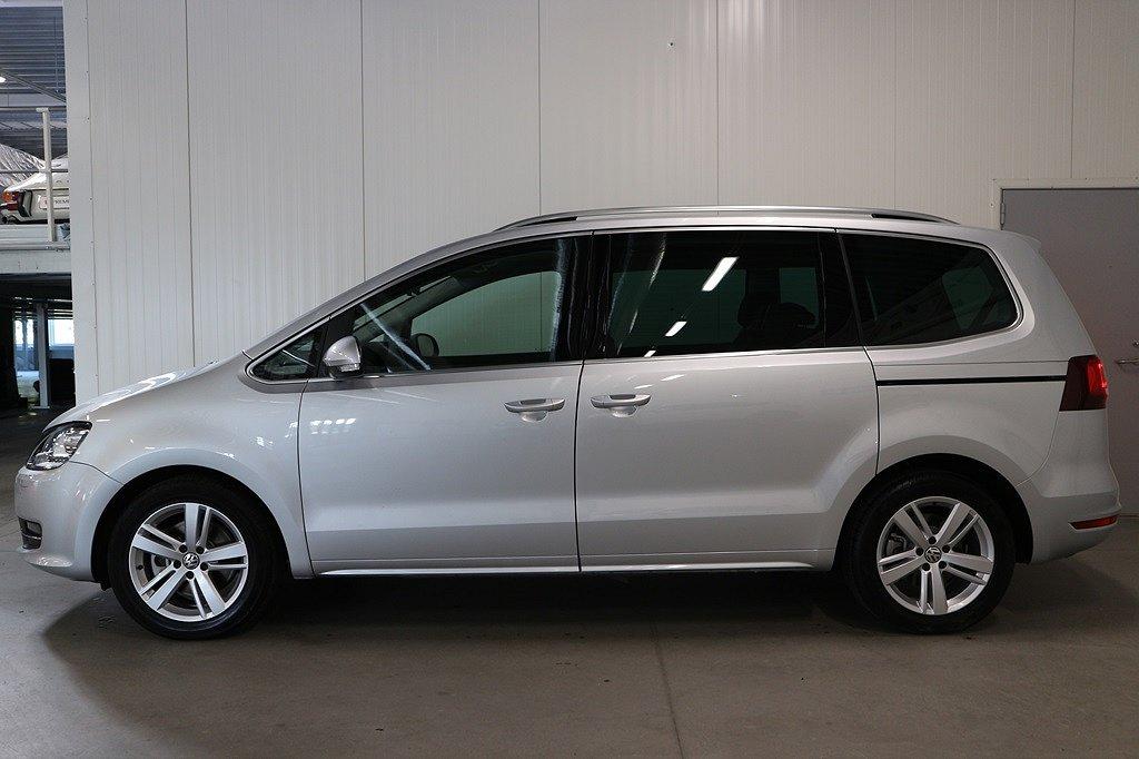 Volkswagen Sharan TDI 177 DSG7 4M GT/P-värmare/Drag/Premium