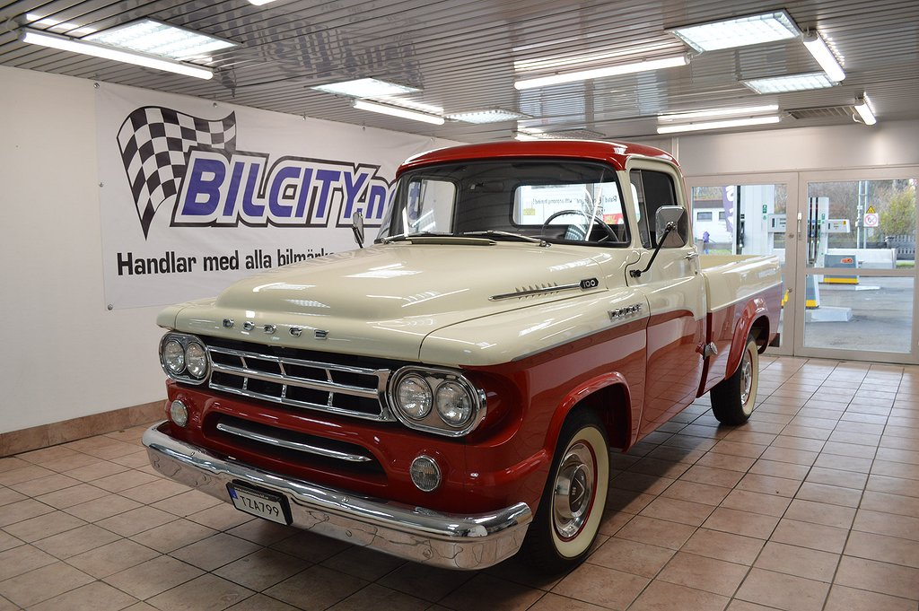 Dodge 1959 D 100 FRI HEMLEVERANS!