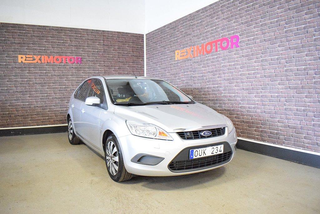 Ford Focus 5-dörrars 1.8 Flexifuel 125hk Ny Besiktad