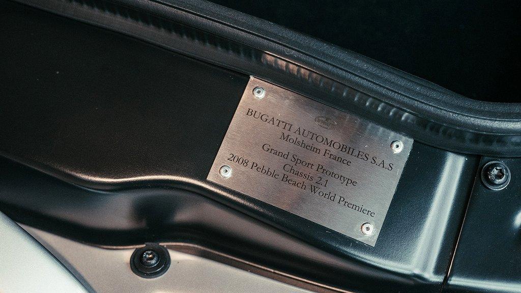 Certifieringen till prototypen av Bugatti Veyron Gran Sport