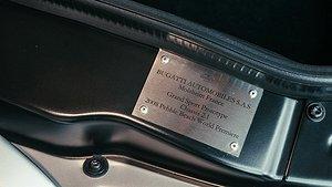 Certifieringen till prototypen av Bugatti Veyron Gran Sport. Foto: Bugatti