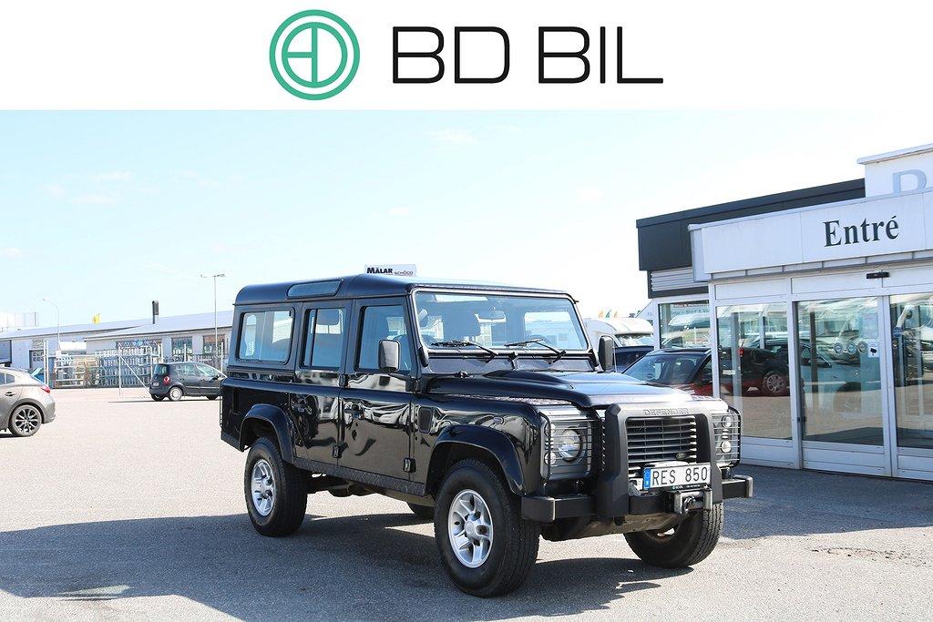 Land Rover Defender 110 2.4 TD4 4x4 122HK 1-ÄGARE SV-SÅLD