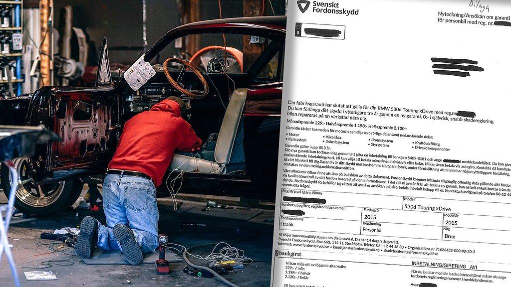 Konsumentverket riktar skarp kritik mot Svenskt Fordonsskydd efter deras utskick.