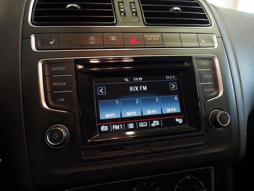 Volkswagen Polo 1.2 TSI 90hk DSG Masters 2015