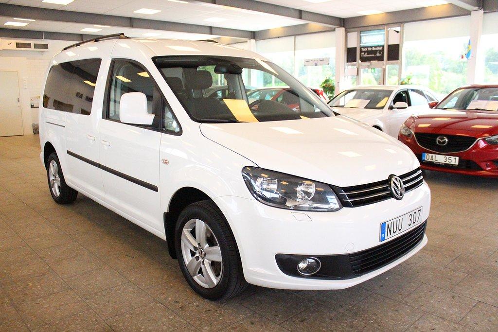 Volkswagen Caddy Maxi Life 2.0 TDI DSG Sekventiell 7-sits 140hk