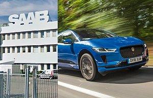 Saabs ingenjörer bakom Jaguars elbil