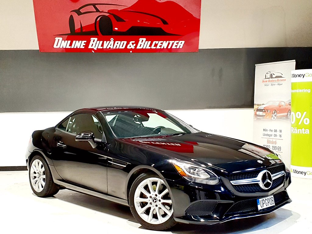 Mercedes-Benz SLC 300 9G-Tronic Euro 6 245hk / Cabriolet