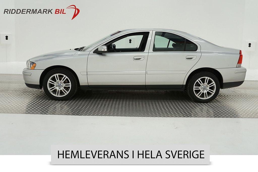 Volvo S60 2.4 Bi-Fuel CNG (140hk)
