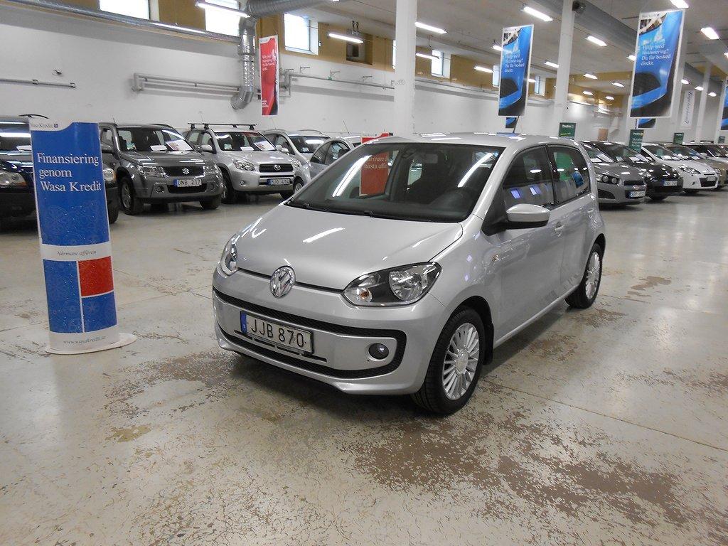 Volkswagen Up 1.0 Drive Ny Servad Välvårdad