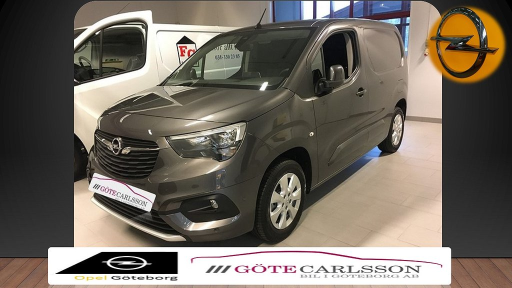 Opel Combo L1H1 Euro 6 132hk Launch Edition
