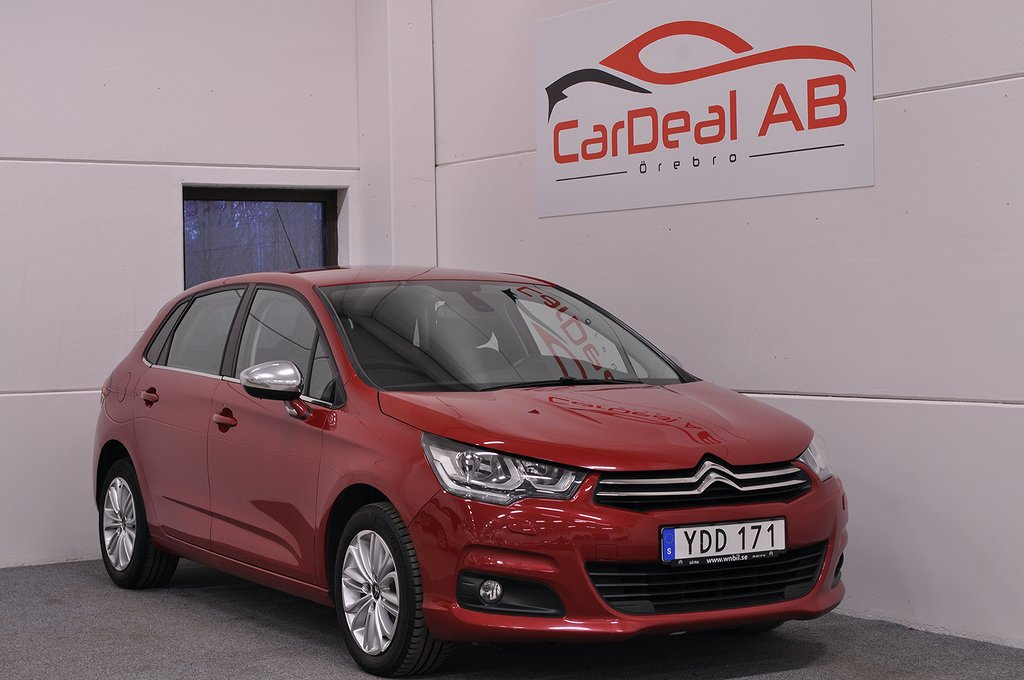 Citroën C4 1.6 BlueHDi EAT Euro 6 120hk *Aut