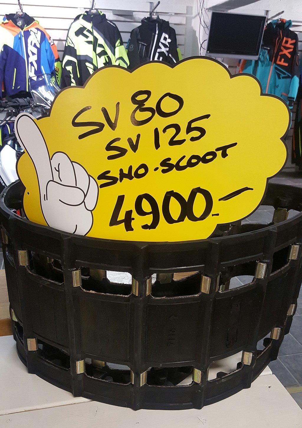 Yamaha Barnskoter mattor SV80/SV125 NYA MATTOR,sno-scoot