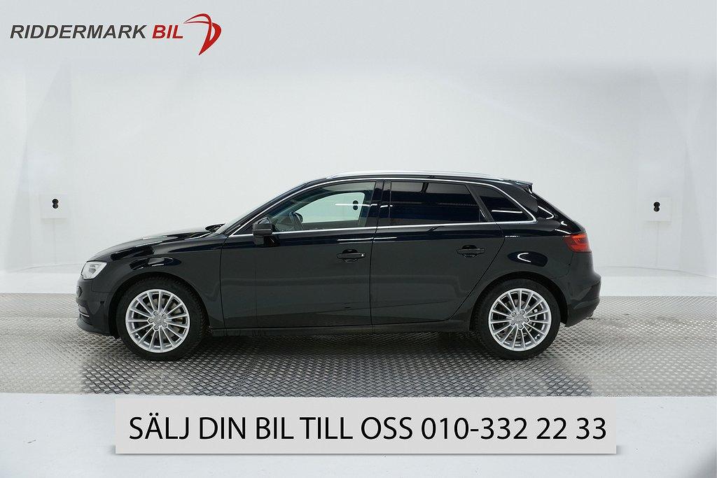 Audi A3 2.0 TDI Sportback quattro (184hk)