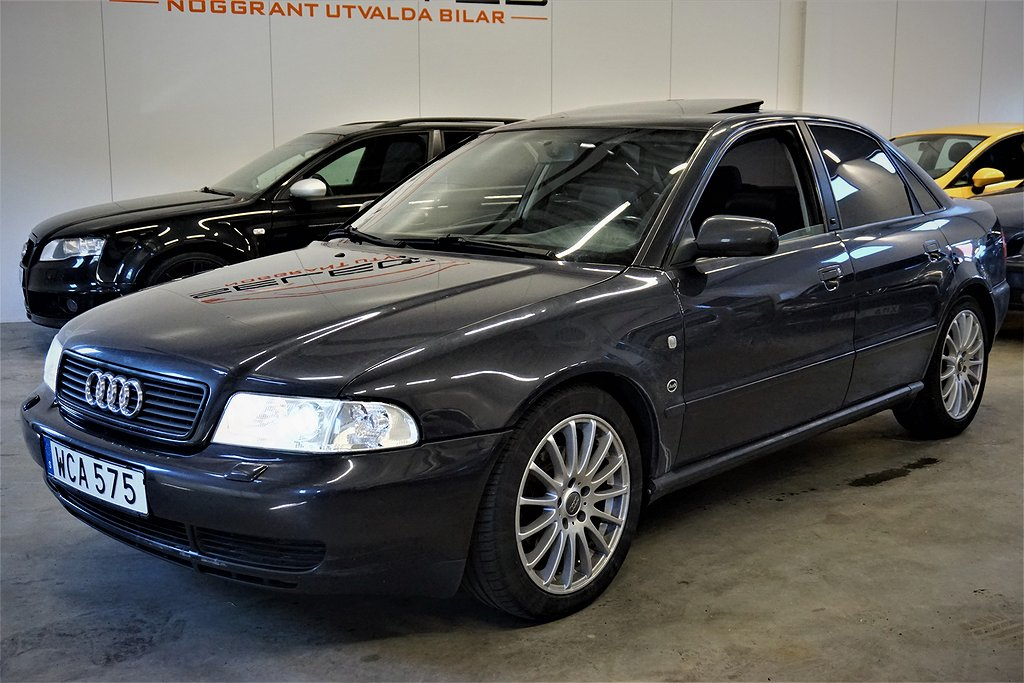 Audi A4 Sedan / 2,4 V6/ Fullutrustad (165hk)