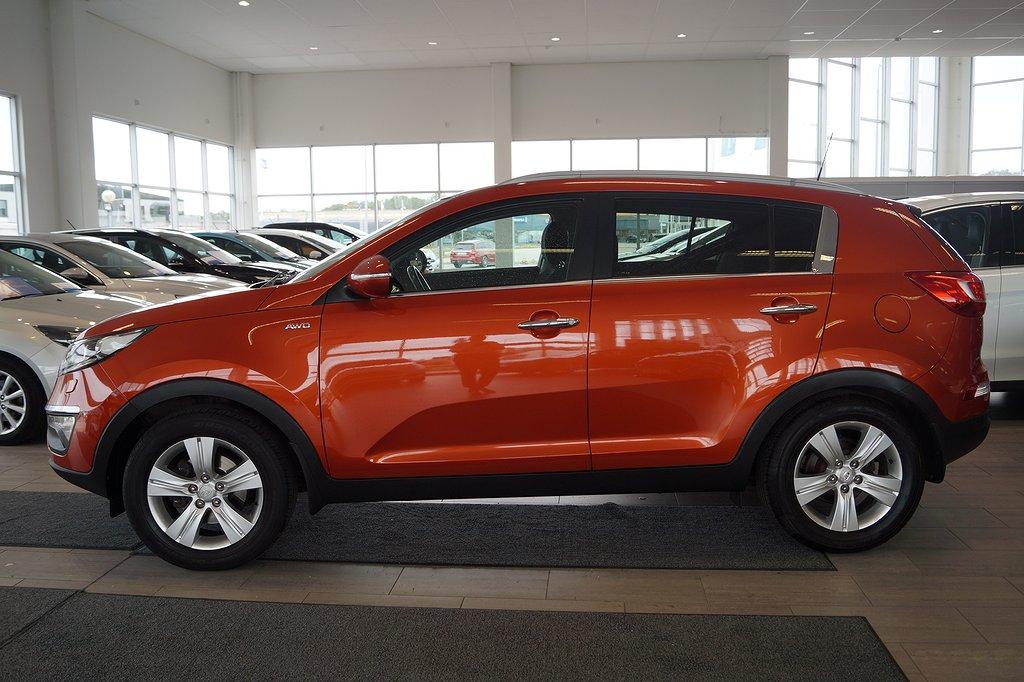 Kia Sportage 2.0 CRDi 184hk AWD Aut, Drag, V-hjul