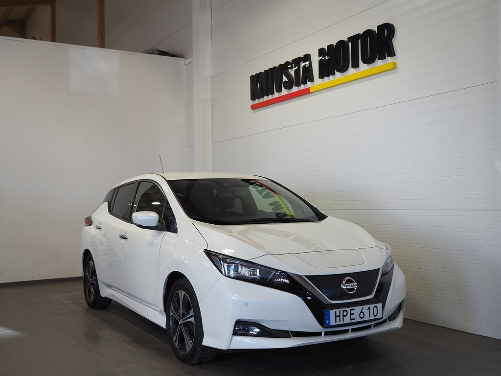 Nissan Leaf 40 kWh TEKNA (360 kamera, GPS, BOSE) 2019