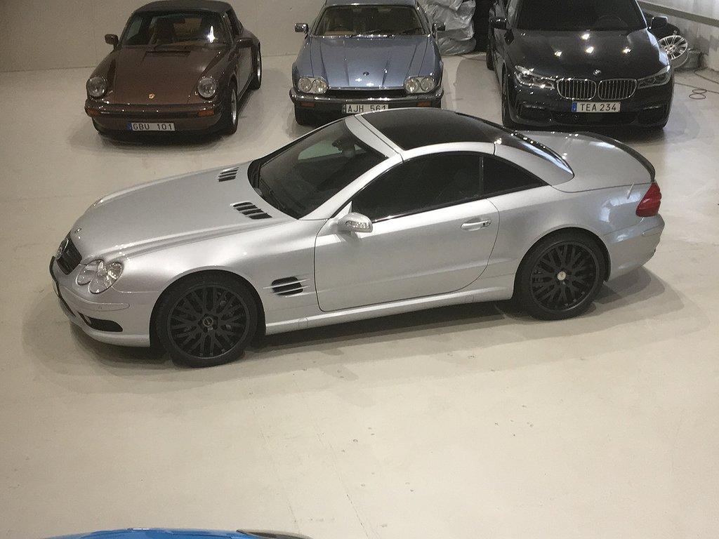 Mercedes-Benz SL 55 AMG Speedshift 500hk
