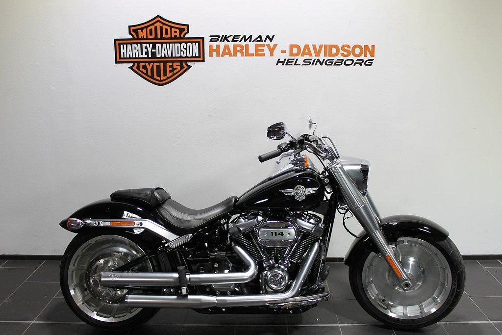 Harley-Davidson FLFBS 1 ÅRS GAR FRI FRAKT