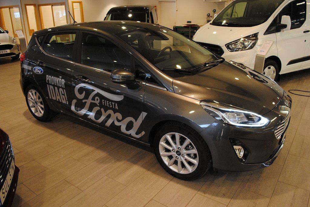 Ford Fiesta 1.0T EcoBoost 100hk Titanium*Demo*