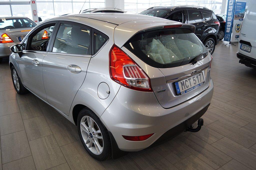 Ford Fiesta 1.0 EcoBoost 100hk Titanium 5D/Drag/v-hjul