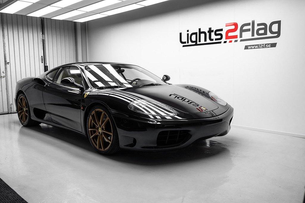 Ferrari 360 Modena 3.6 V8 400hk Svensksåld